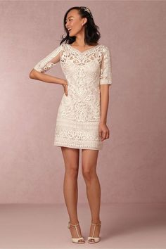Short Embellished Wedding Dresses  - 22 Most Unique Non Traditional Wedding Dresses - EverAfterGuide