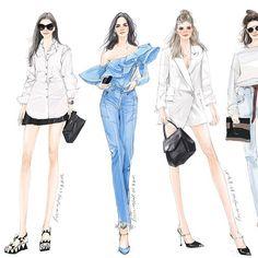 Best Ideas For Fashion Drawing Illustration Paint Fashion Sketch Template, Fashion Model Sketch, Fashion Design Sketchbook, Fashion Design Drawings, Fashion Sketches, Fashion Models, Fashion Outfits, Drawing Fashion, Croquis Fashion