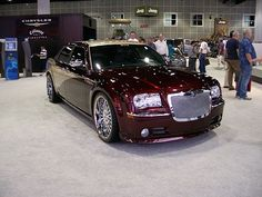 My dream car...the 2013 Chrysler 300C Luxury Series.  Gorgeous color too!