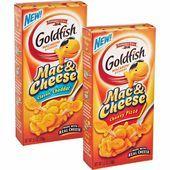 Goldfish Mac and cheese @ W