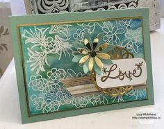Oh So Succulant Resist, Crazy Crafters blog hop with Sandi MacIver | Stamp With Lisa