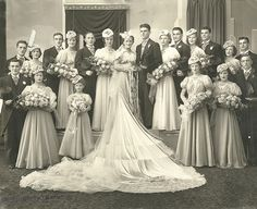 099 | Detroit wedding, c.1930s. Can anyone identify any of t… | Flickr