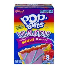Kellogg's Pop-Tarts Wildlicious Frosted Wild! Berry, 15.2 OZ