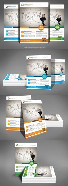 Business Inovation Flyer Psd