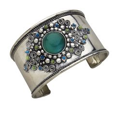 Bedazzled Bead Cuff Bracelet