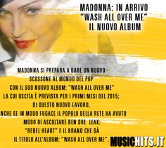 Nuovo album in arrivo per +Madonna