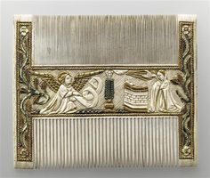 Comb 4th quarter of 15th century - Adoration of The magi 2nd side