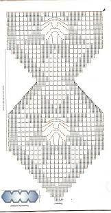 desenho de flores para caminho de mesa de crochecom grafico - Pesquisa Google