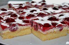 Beste Rezeptesammlung: Kirsch Schmand Blechkuchen
