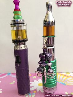 Love the purple provari! Gotta get one of those, methinks.. She's even got a Hello Kitty tank charm! Adorbs!
