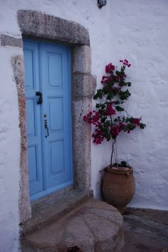another blue, patmos