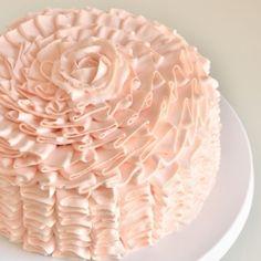 Ruffle Cake -- Impress someone this Valentine's!