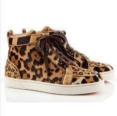 Christian Louboutin Sneakers Rantus Orlato Flat Leopard