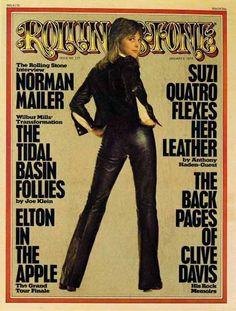 Suzi Quatro (Rolling Stone magazine).