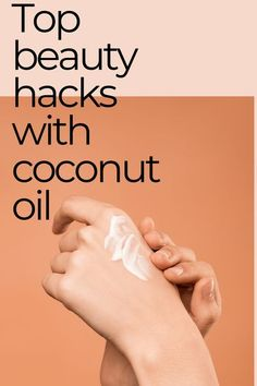 Coconut oil has so many benefits for your skin and hair! It's 100% natural compared to those toxic lotions, creams, and conditioners. Check out this post for more. Best Natural Makeup, Natural Beauty Tips, Beauty Hacks With Coconut Oil, Best Makeup Brands, Facial Lotion, Benefits Of Coconut Oil, Eye Makeup Remover, Natural Deodorant, Silky Hair