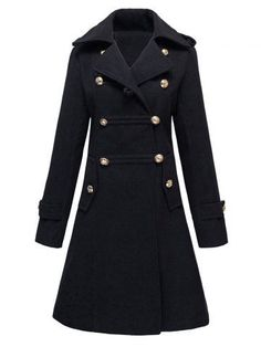 GET $50 NOW | Join RoseGal: Get YOUR $50 NOW!http://m.rosegal.com/coats/double-breasted-woolen-long-coat-784405.html?seid=8397541rg784405