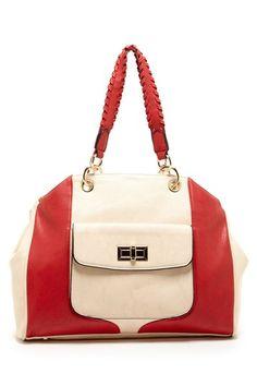 Colorblock Shoulder Bag on HauteLook