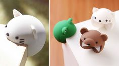 Protect Your Table Corners And Yourself With Adorable Corner-Eating Animals | Bored Panda