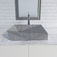 Discovering the correct sink on your kitchen and loo generally is a bit overwhelming. With the huge choice of sinks obtainable out there at this time, Concrete Bathtub, Concrete Basin, Concrete Kitchen, Sink Design, Bath Design, Bathroom Interior, Modern Bathroom, Bathroom Remodeling, Sink Taps