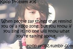 This happens all the time because no one at school listens to K-POP