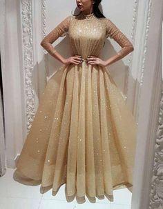Ball Dresses, Evening Dresses, Hijab Dress Party, Robes D'occasion, Hijab Fashion Inspiration, Elegant Dresses, Homecoming Dresses, Wedding Dresses, Designer Dresses