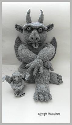 Ravelry: My Giant Gargoyle pattern by Phoeny