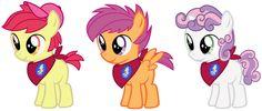 Appleboom, Skaterloo, and Squeaky Bell (Gender Bender) My Little Pony Movie, My Little Pony List, My Little Pony Pictures, My Little Pony Friendship, Mlp Cutie Marks, Sweetie Belle, Little Poni, Gender Swap, Imagenes My Little Pony