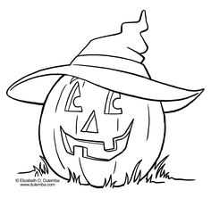 Image detail for -halloween coloring pictures 1 » color pages printable