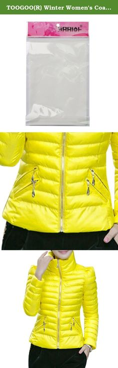 TOOGOO(R) Winter Women's Coats Slim Office Epaulet Zippers Ladies Jackets Coat Yellow 2XL. * TOOGOO is a registered trademark. ONLY Authorized seller of TOOGOO can sell under TOOGOO listings.Our products will enhance your experience to unparalleled inspiration. TOOGOO(R) Winter Women's Coats Slim Office Epaulet Zippers Ladies Jackets Coat Yellow 2XL Product Description Color: Yellow Size(CM): 2XL--Chest:102--Shoulder:40--Sleeve:59--Length:61;Fit Weight:57.5-62.5KG Hooded:No Fabric...