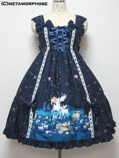 There has to be a name for this starry sky and unicorn lolita style. I keep seeing it pop up and it seems like something specific to me.