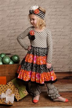 Mustard Pie Clothing - McKenna Dress in Black Holly Fall 2013 phase 2