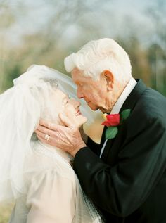 A Love Story 63 Years in the Making Fotografia: Shalyn Nelson Leia mais sobre SMP: www.