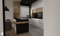 apartament mokotów 90m2 - Kuchnia, styl nowoczesny - zdjęcie od Grafika i Projekt architektura wnętrz