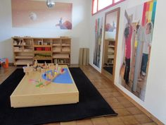 "Using a platforms to define the space & invite creative building - from 'mirades' ("",)"