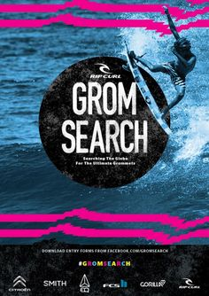 Ripcurl Grom Search 2016 - Levanto Italy! Wait period March 15 - April 15. Searching the globe for the ultimate grommets!