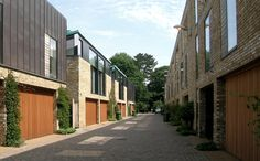 Alison Brooks Architects _ Cambridge _ Accordia _ Sky Villas _ Rear Facade