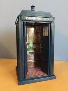 Doctor who 10th dr flight #control #tardis, light, sound fx, for action #figures,  View more on the LINK: http://www.zeppy.io/product/gb/2/331459180256/