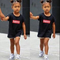 North being dressed better than we do... UNRELEASED White Yeezy Boost 350 V2\u0026#39;s