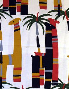Tampella fabric Mikko from 70's.