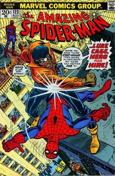 Luke Cage - Spidey - Rooftop Action - Action - Bronze Age