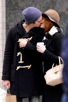 Andrew Garfield Photos: Emma Stone and Andrew Garfield Out in NYC So adorable