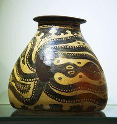 Minoan Octopus Jug, 17th - 15th CenturiesBC, Heraklion, Crete