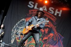 Slash @Graspop 2012
