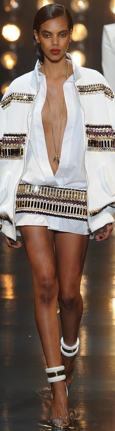 Alexandre Vauthier Spring 2014 Couture - Courtesy via James Mitchell         repin mollylucille