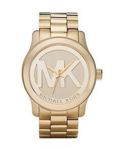 Michael Kors Quartz Goldtone Bracelet Champagne Dial Women's Watch MK5473 Michael Kors. $260.00. Case Diameter - 45 MM