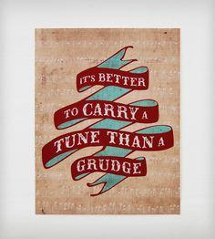 Carry a Tune Print | Art Prints | Earmark Social Goods | Scoutmob Shoppe