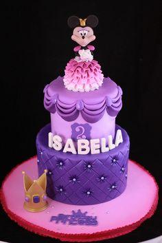 Princess Minnie cake | Flickr: Intercambio de fotos