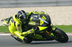 Yamaha YZR-M1 - ridden by the main man - Rossi. Welcome back to Yamaha!