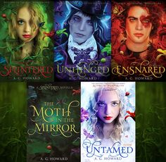 splintered a.g. howard I just pinned the 1st book today not realizing it's a series. Adding it to my list.
