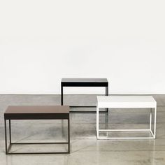 Painted Stainless Tables Stainless Table, Stainless Steel Furniture, Tables, Home Decor, Mesas, Decoration Home, Room Decor, Home Interior Design, Home Decoration